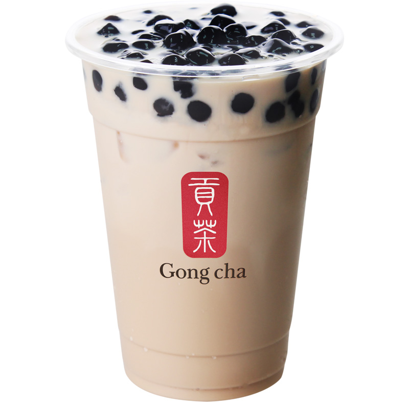 Gong Cha TAPIOCA BLACK MILK TEA