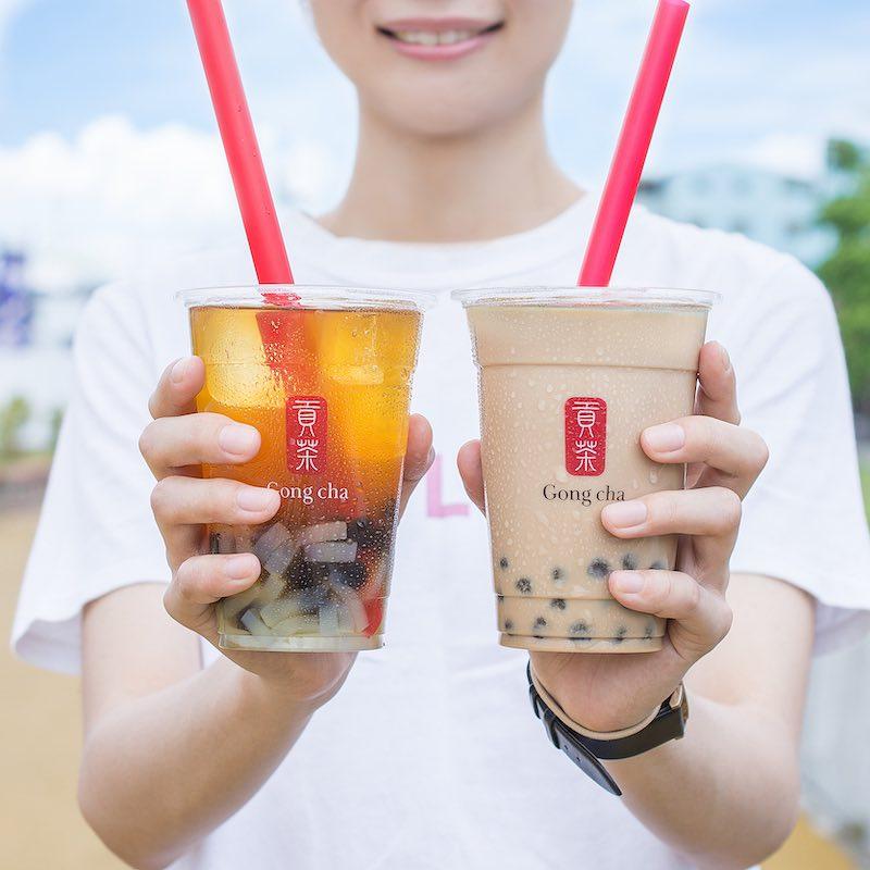 Bebidas Gong cha