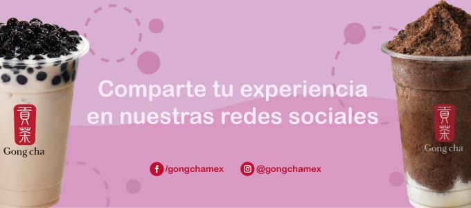 comparte tu experiencia en nuestras redes sociales
